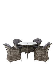 florida-5-piece-grey-rattan-dining-set