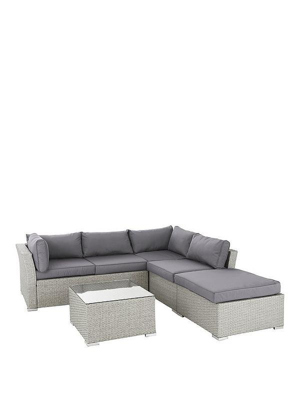 Sensational Athens 4 Piece Corner Set With Table And Chaise Inzonedesignstudio Interior Chair Design Inzonedesignstudiocom