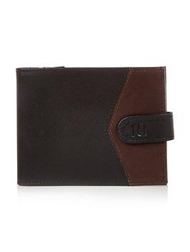 river-island-chevron-blocked-wallet