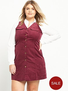 alice-you-alice-amp-you-button-front-dungaree-dress