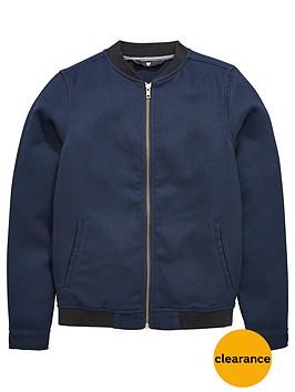 v-by-very-boys-pique-zip-bomber-jacket