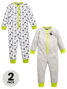mini-v-by-very-boys-dino-marl-sleepsuitsnbsp2-pack