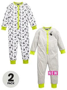 mini-v-by-very-boys-dino-marl-sleepsuitsnbsp2-pack
