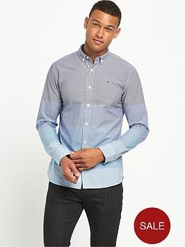hilfiger-denim-block-stripe-checked-shirt