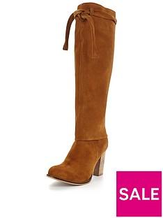 joe-browns-2-in-1-sensational-slouch-suede-boot-tan