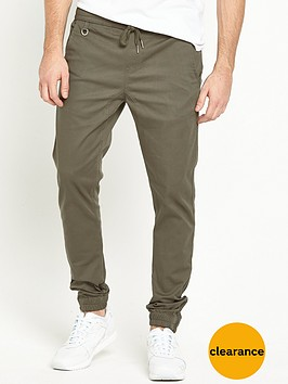 criminal-damage-woven-cuffed-jogger