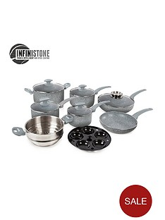 tower-infinistone-9-piece-stone-coated-pan-set