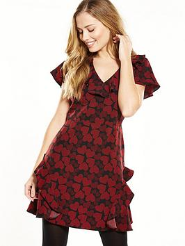 v-by-very-ruffle-tea-dress