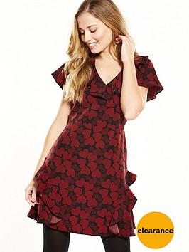 v-by-very-ruffle-tea-dress