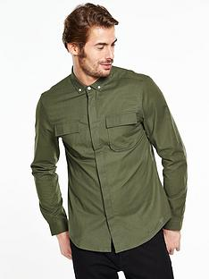 v-by-very-military-pocket-shirt