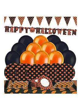 dotty-halloween-tableware-amp-decoration-kit
