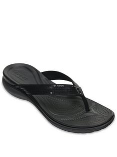 crocs-capri-v-sequin-flip-blacknbsp
