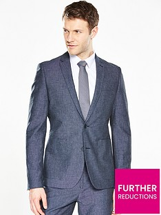 v-by-very-slim-fit-chambray-suit-jacket