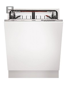 AEG Favorit F66602VI0P Full-size Integrated Dishwasher - White