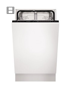 AEG Favorit F55412VI0 Fully Integrated Slimline Dishwasher - White