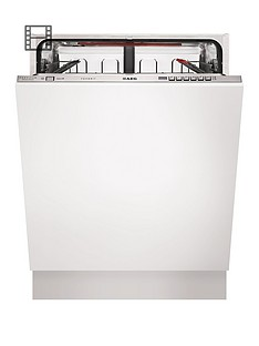 AEG Favorit F67622VI0P Full-Size Integrated Dishwasher - White