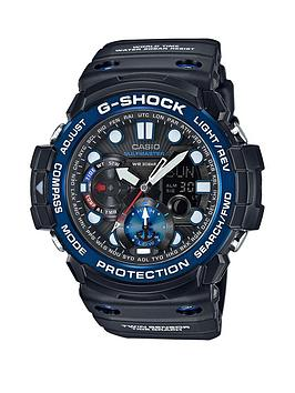 casio-g-shock-gulfmaster-black-multi-dial-blue-bezel-black-strap-mens-watch