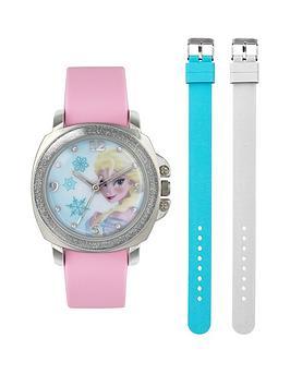 disney-frozen-frozen-elsa-dial-interchangable-strap-kids-watch