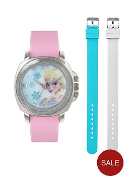 disney-frozen-frozen-elsa-dial-interchangable-strap-kids-watch