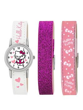 hello-kitty-hello-kitty-white-dial-interchangable-strap-kids-watch