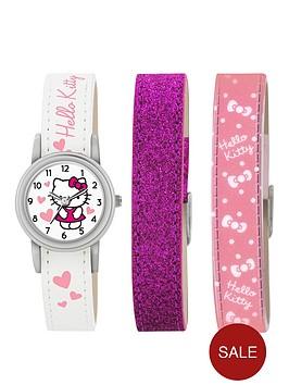 hello-kitty-hello-kitty-white-dial-interchangable-strap-kids-watch