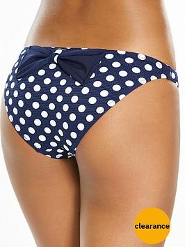 boux-avenue-lanzarotenbspwaffle-spot-classic-bow-bikini-brief
