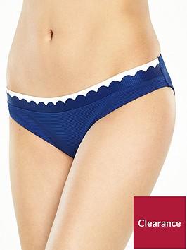 boux-avenue-limassolnbspscallop-detail-classic-bikini-brief-navyivory