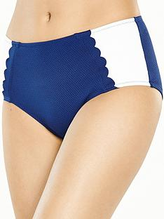 boux-avenue-limassol-scallop-detail-high-waist-bikini-brief-navyivory