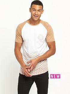 river-island-geo-faded-print-tshirt