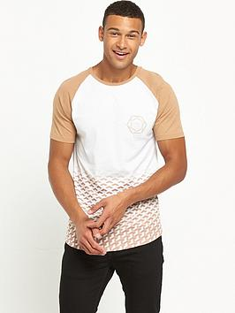 river-island-geo-faded-print-tshirt