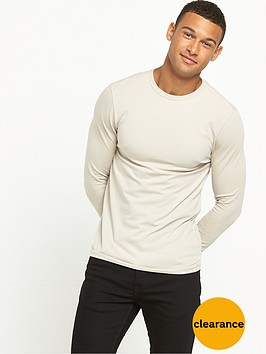 river-island-muscle-fit-long-sleeve-tshir