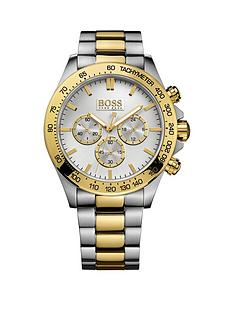 hugo-boss-black-hugo-boss-boss-black-ikon-chronograph-dial-two-tone-stainless-steel-mens-watch
