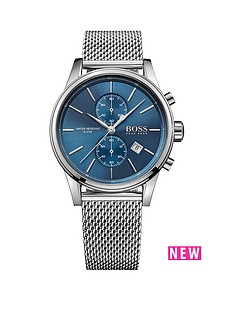 hugo-boss-black-hugo-boss-boss-black-jet-blue-dial-silver-tone-mesh-bracelet-mens-watch