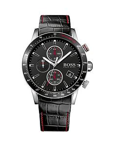 hugo-boss-black-hugo-boss-boss-black-rafale-black-dial-chronograph-red-accents-black-leather-strap-mens-watch