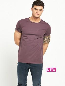 river-island-pocket-roll-sleeve-tshirt