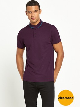 river-island-sporty-snaps-short-sleeve-polo