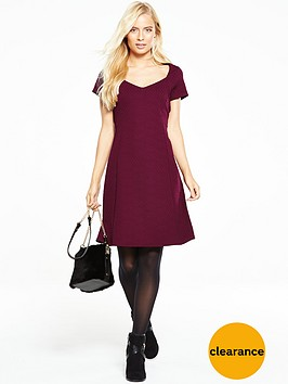 v-by-very-textured-jacquard-skater-dress