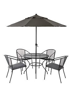 Very Garden Furniture Garden furniture outdoor furniture very capri 6 piece dining set workwithnaturefo