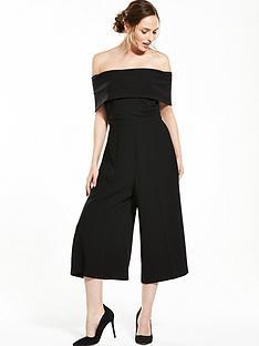 rochelle-humes-bardot-culotte-jumpsuit-blacknbsp