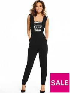 myleene-klass-sleeveless-lace-front-jumpsuit-black