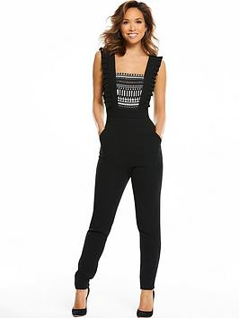 myleene-klass-sleeveless-lace-front-jumpsuit-black