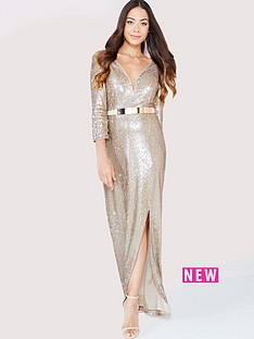 little-mistress-sequin-maxi-dress-with-belt