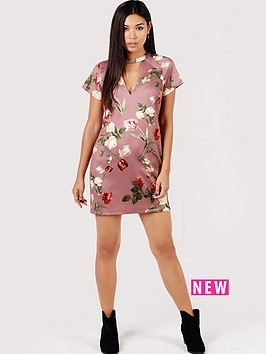 girls-on-film-tulip-print-shift-dress-with-keyhole