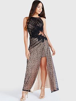 little-mistress-lace-appliqueacutenbspmaxi-dress