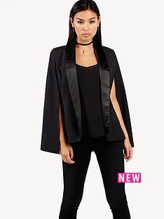 girls-on-film-satin-lapel-cape-jacket