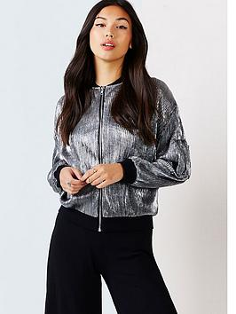 girls-on-film-metallic-bomber-jacket
