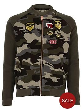 river-island-girls-khaki-camouflage-badge-bomber-jacket