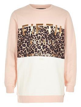 river-island-girls-pink-metallic-print-sweatshirt