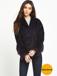 lost-ink-faux-fur-hem-and-cuff-jacket-black