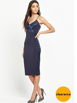 lost-ink-thelma-satin-insert-dress-navy